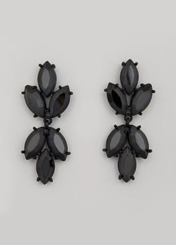 Badgley Mischka Symmetrical Marquis Earrings