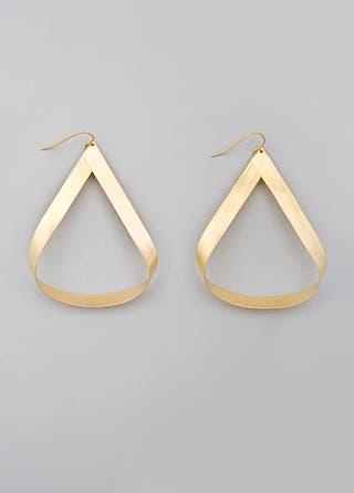 Citrine by the Stones Gold Adonis Hoops