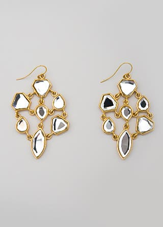 Isharya Shattered Glass Earrings