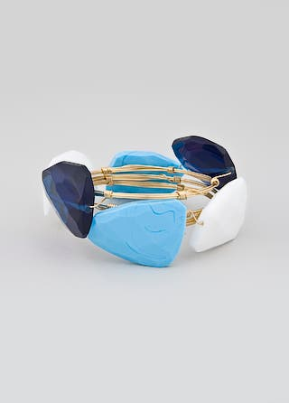 Susan Hanover Ocean Tone Bangle Set