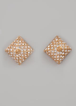 CC Skye Pyramids of Egypt Earrings