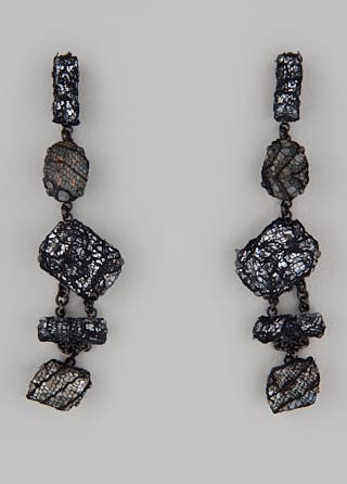 Erickson Beamon Smoke and Mirrors Earrings