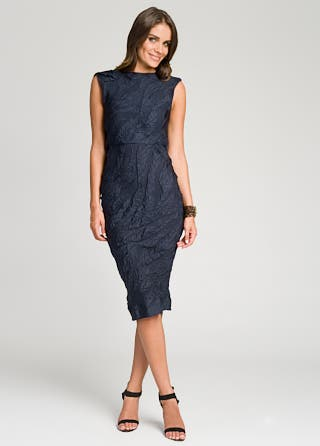 Roksanda Ilincic Midnight Draped Back Dress
