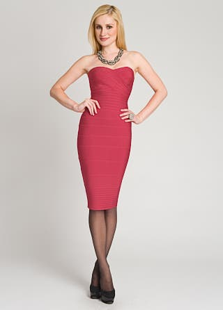 Herve Leger Ruby Bandage Dress