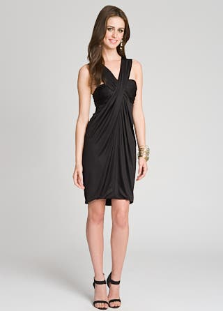 Yigal Azrouel Open Back Noir Dress