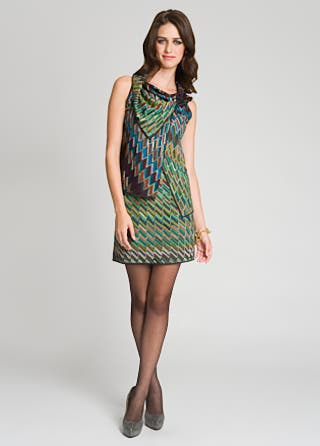 Missoni Zig zag Tiered Dress