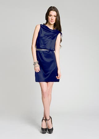 Doo.ri Cowl Neck Cocktail Dress