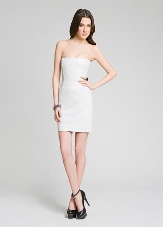 Peter Sornen White Hot Sequin Dress