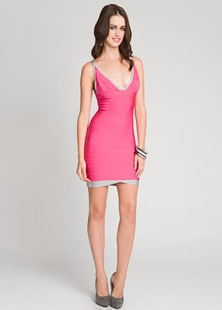 Herve Leger Heartbreaker Dress