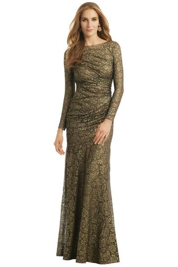Gold Idol Gown