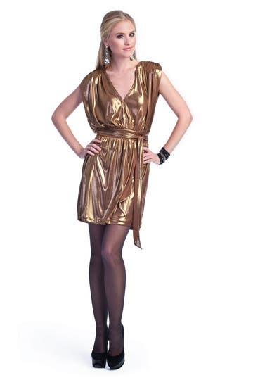 Liquid Gold Dress