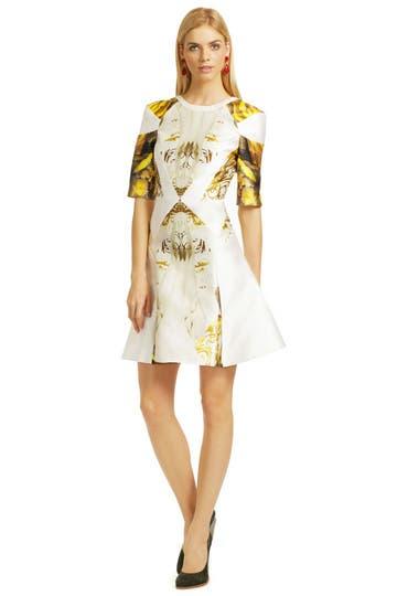 Dali Print Dress