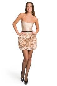 Almond Rosette Dress