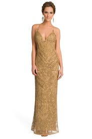 Drop Dead Gold Gorgeous Gown