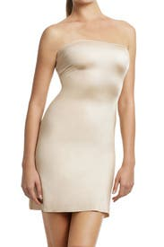The Simplicity Convertible Full Slip in Nude