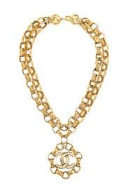 WGACA Vintage  - Vintage Chanel CC Double Choker