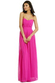 Fluorescent Chiffon Gown