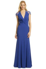 Sapphire Serenity Gown