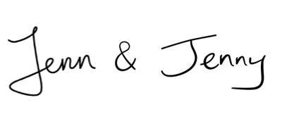 Signature of Jenn and Jenny