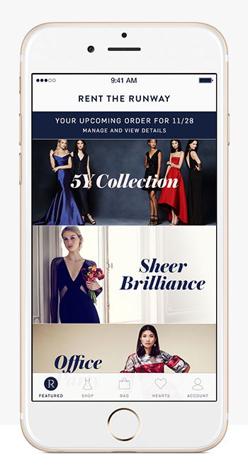 Rent the Runway for iPhone