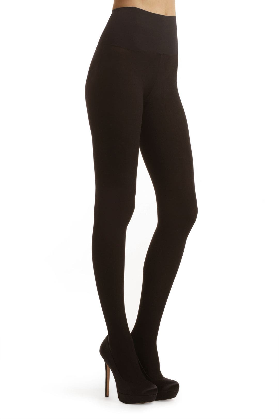 Black Opaque Matte Tights by Commando