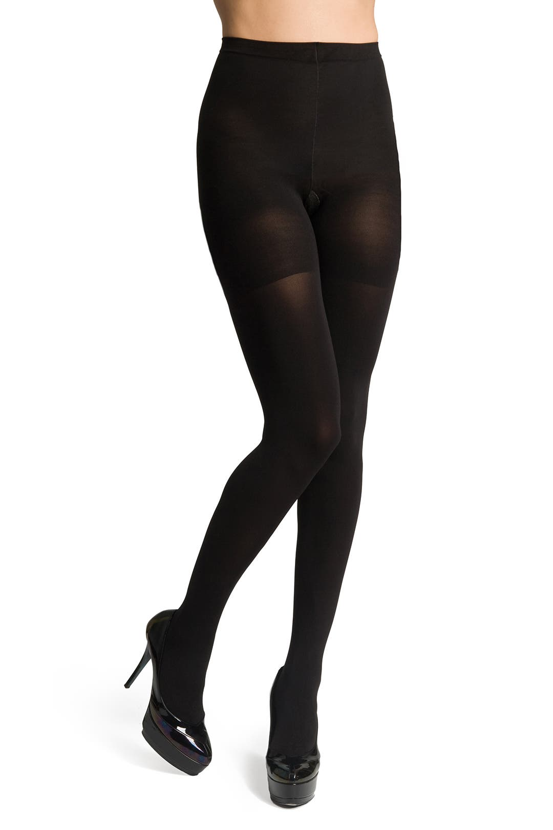 Black Tight End Tights by Spanx