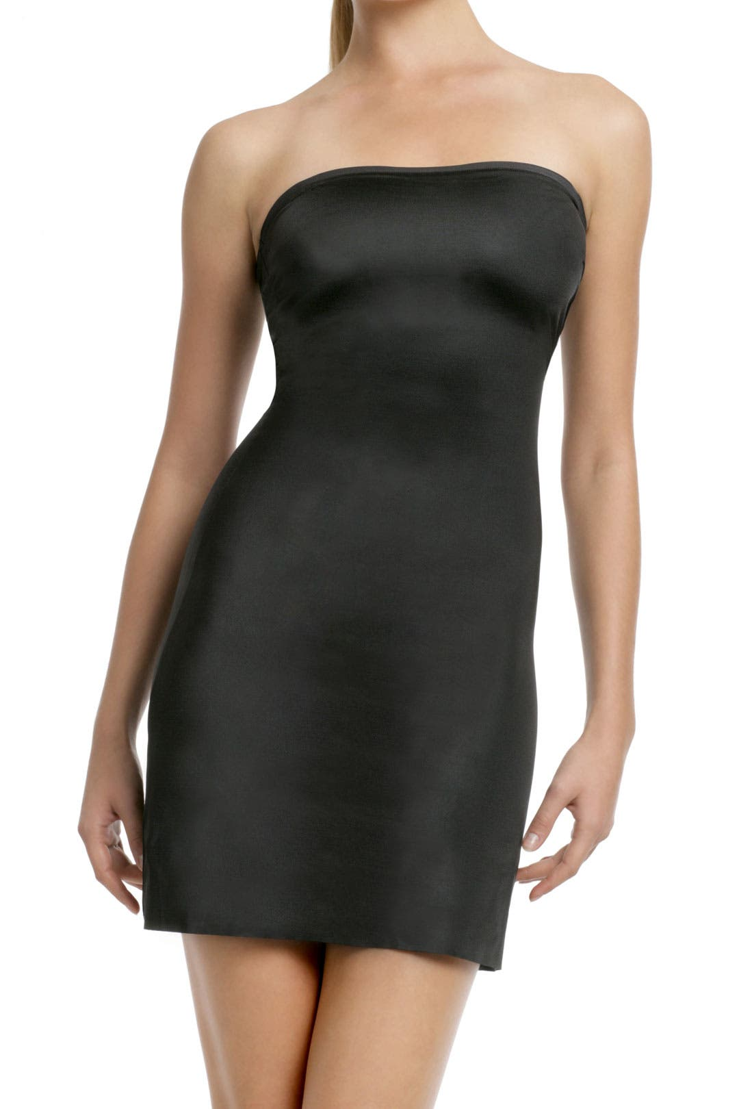 The Simplicity Convertible Full Slip in Black by Spanx