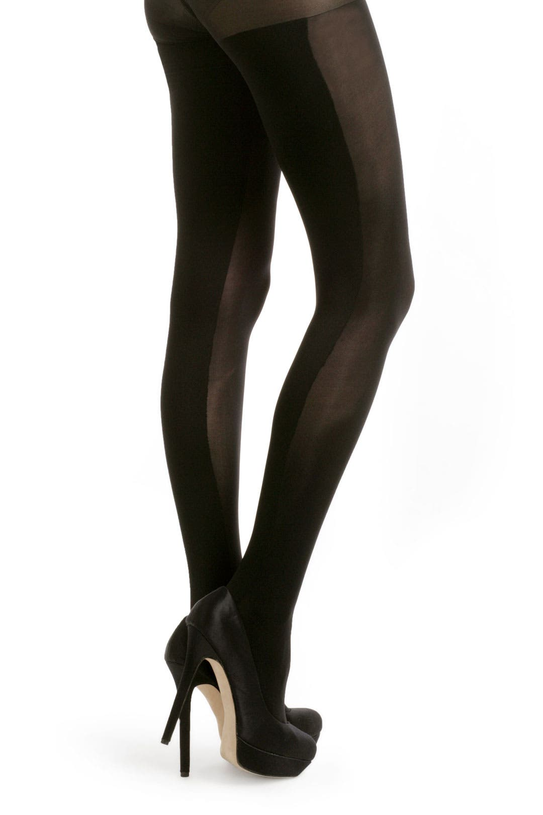 Two Tone Tights by Cynthia Rowley Tights
