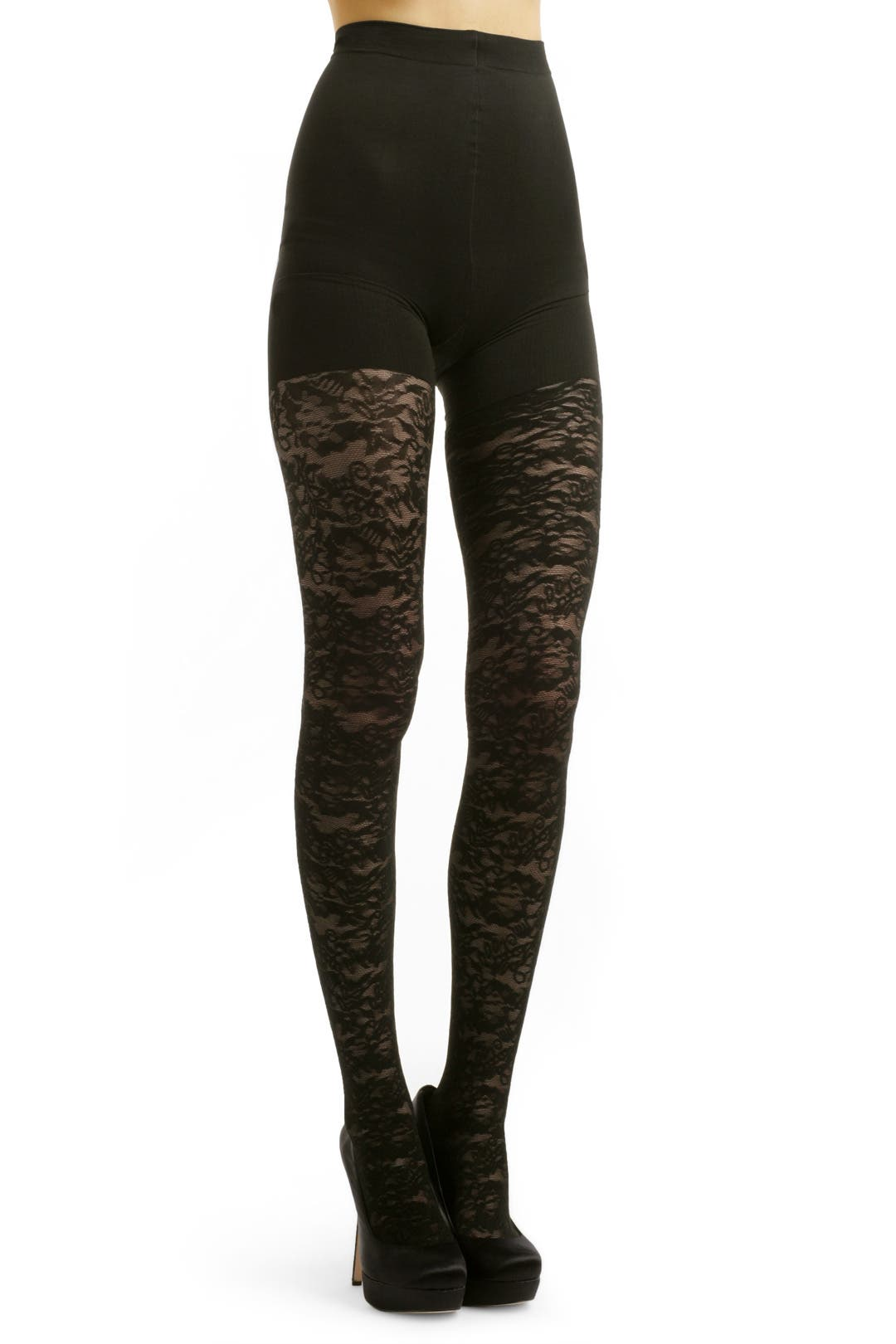 Vintage Lace Tights by Cynthia Rowley Tights