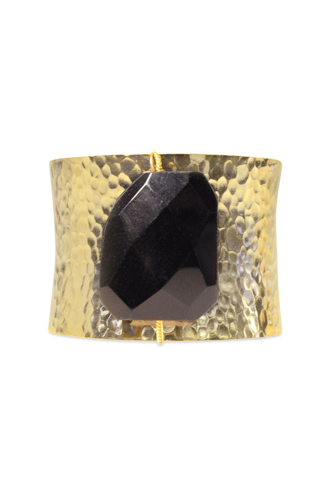 Gold Statement Cuff by AV Max