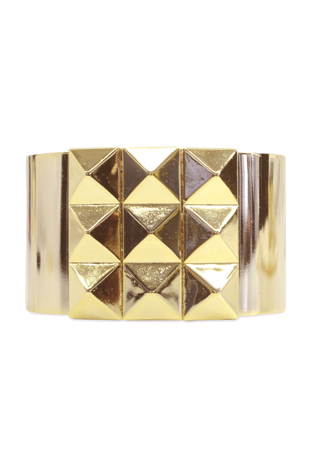 Gold Studded Cuff by AV Max