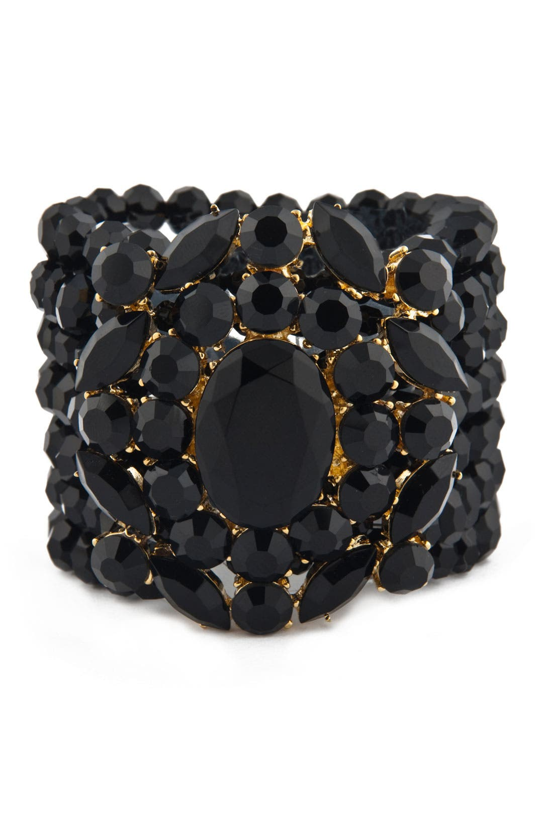 Shattered Pieces Stretch Bracelet by Badgley Mischka Jewelry