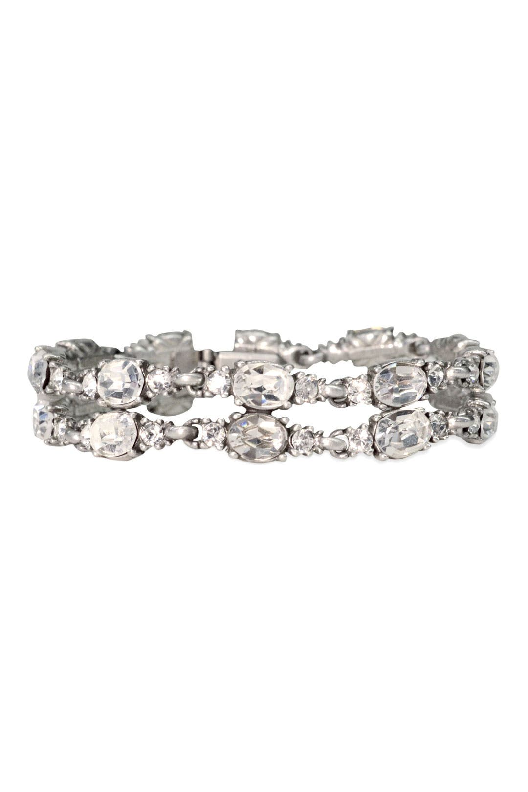 Antiqued Crystal Bracelet by Ben-Amun
