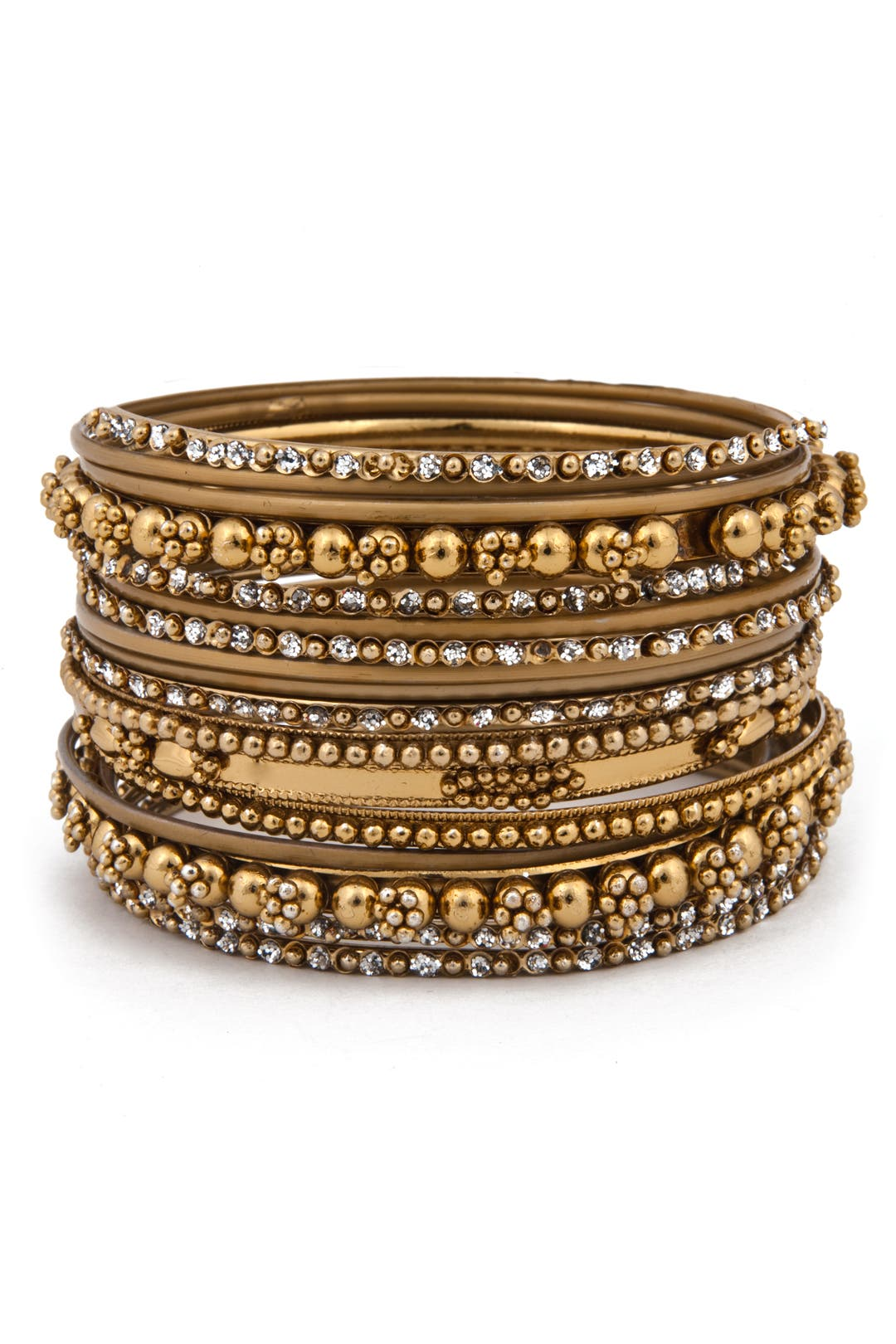 Flashy Fun Bangle Set by Cara Accessories