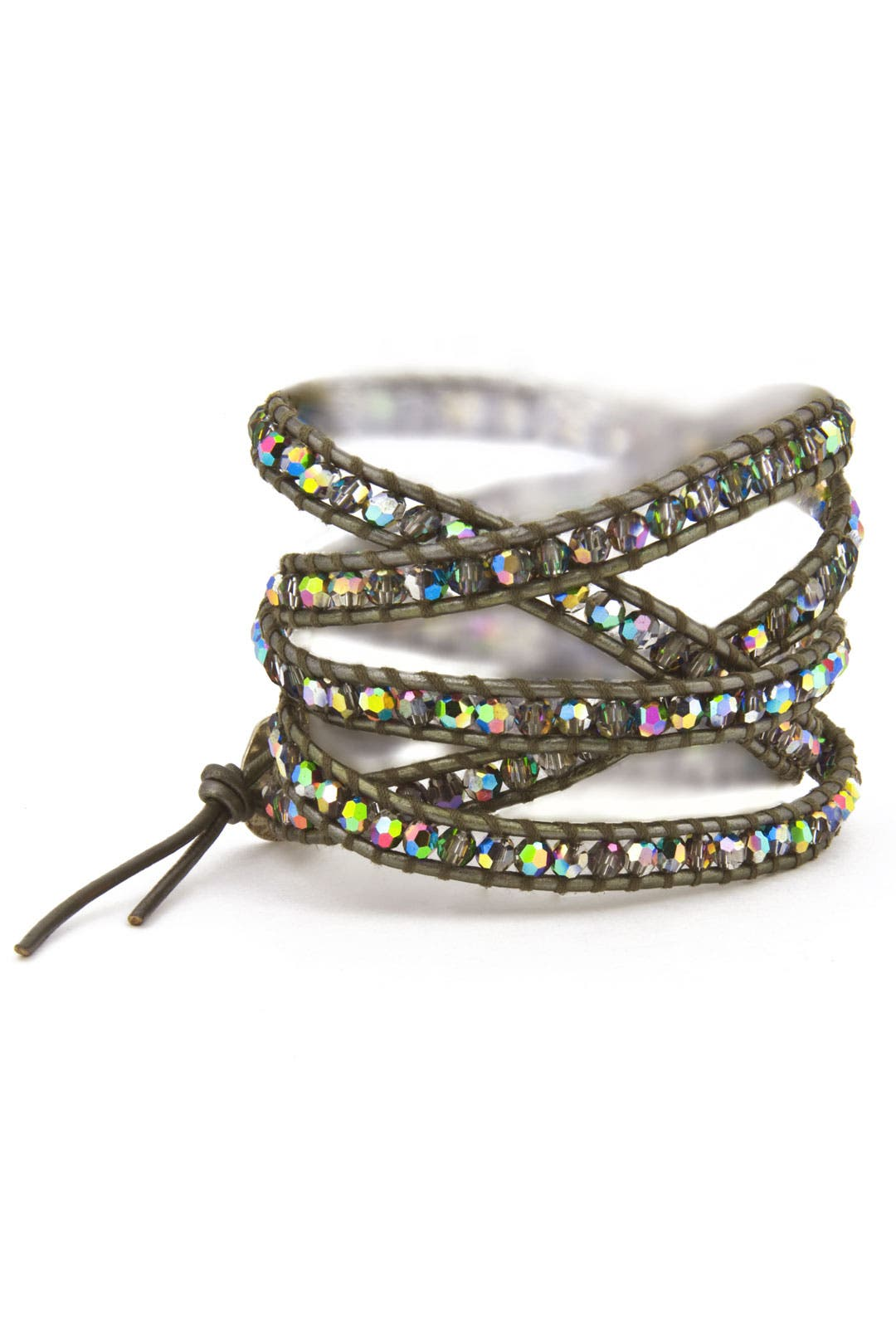Army Disco Crystal Bracelet by Chan Luu
