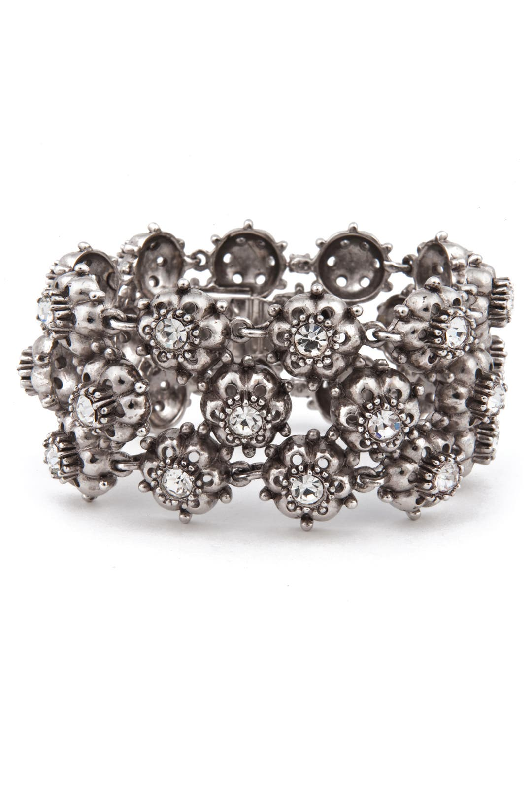 Antique Flower Bracelet by Ciner