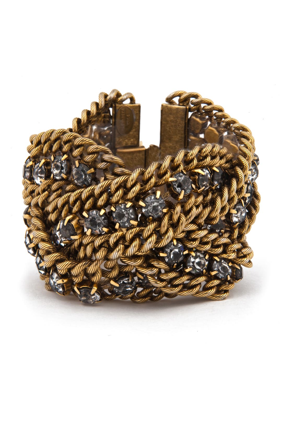 Braided Chain Bracelet by Elizabeth Cole