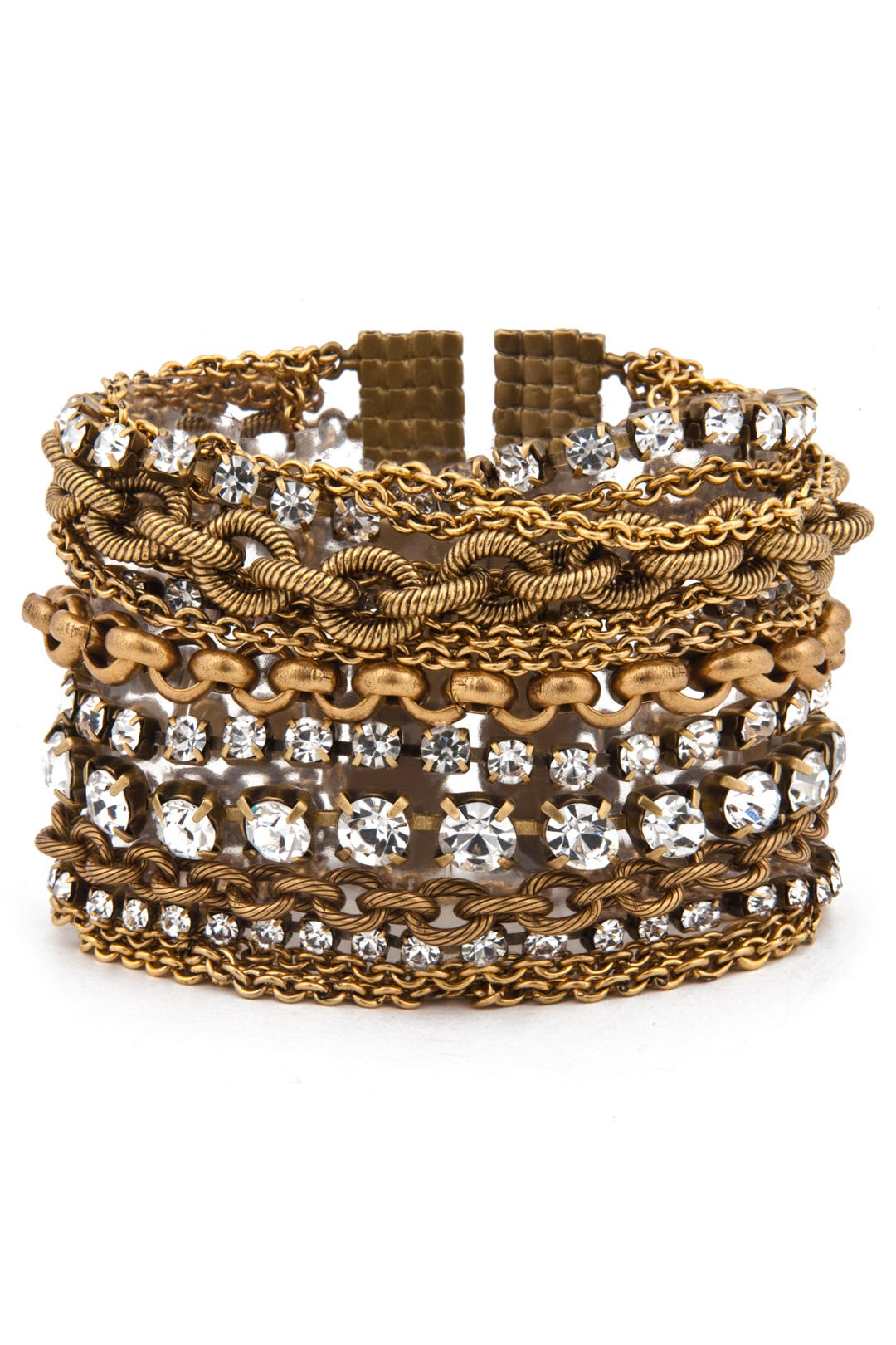 Metallic Chain Bracelet by Elizabeth Cole
