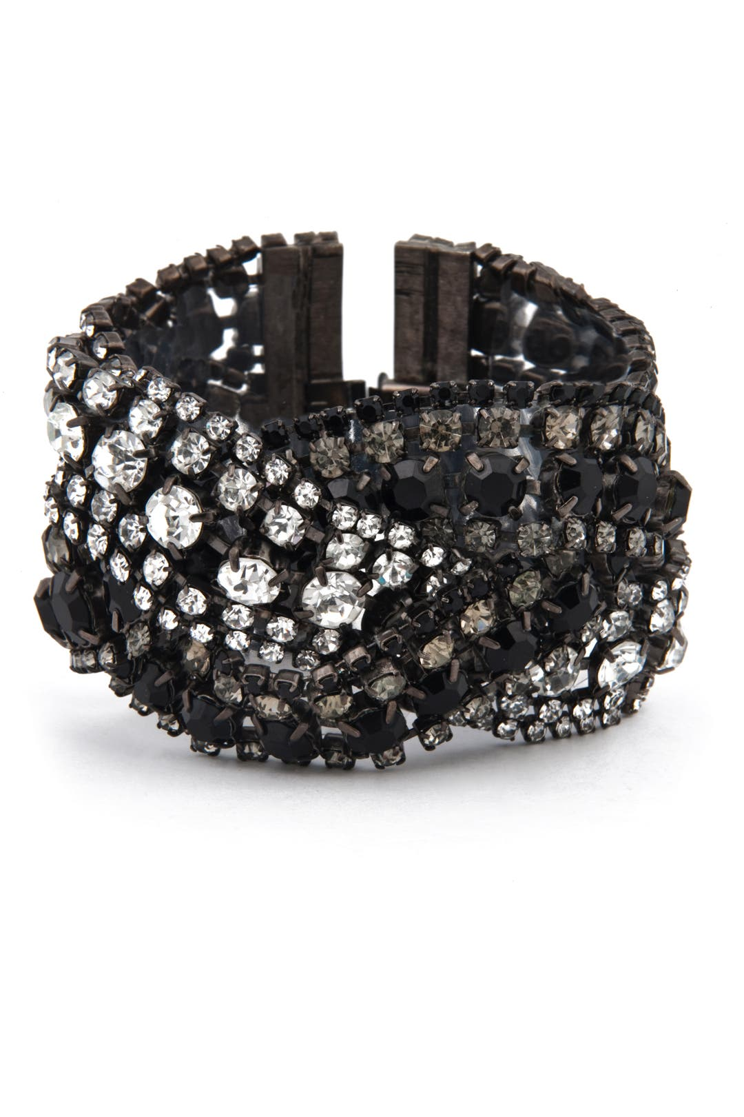 Triple Black Diamond Bracelet by Elizabeth Cole