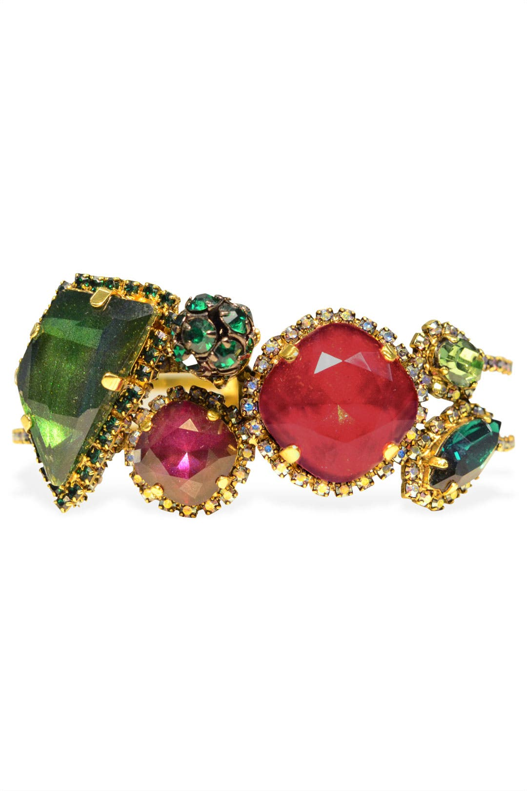 Jeweled Envy Bracelet by Erickson Beamon