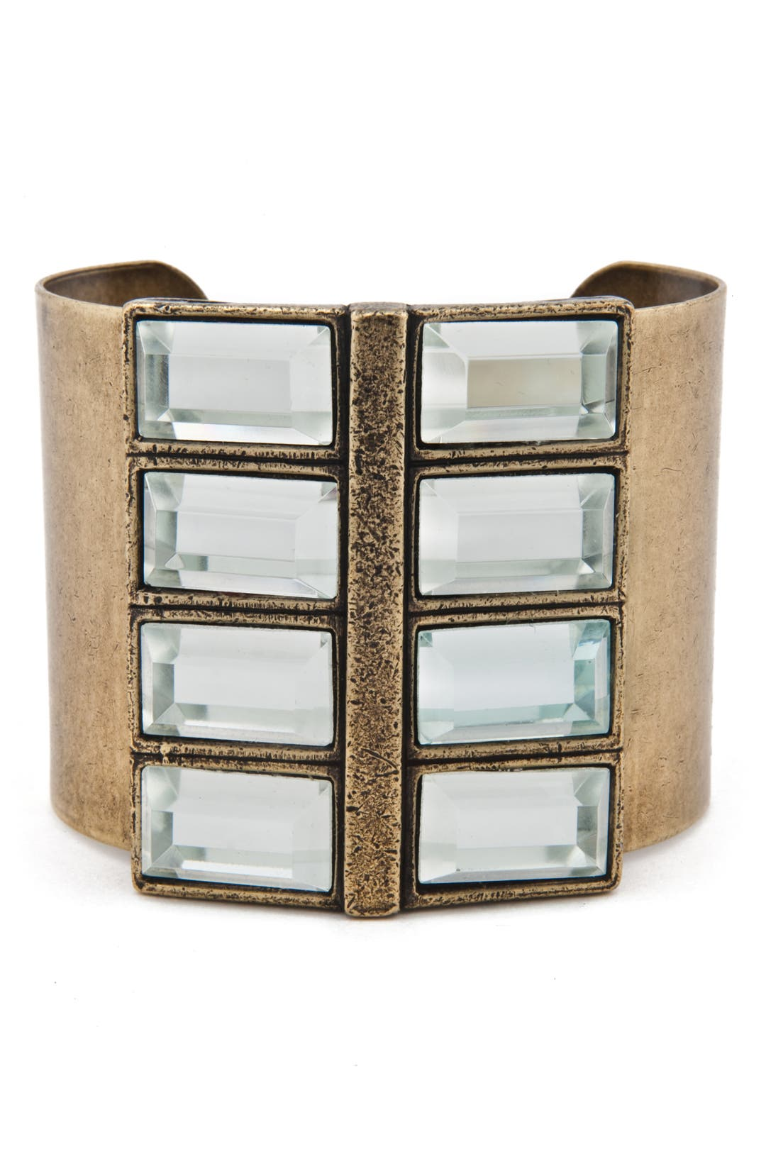 Studio 54 Crystal Cuff by Gerard Yosca