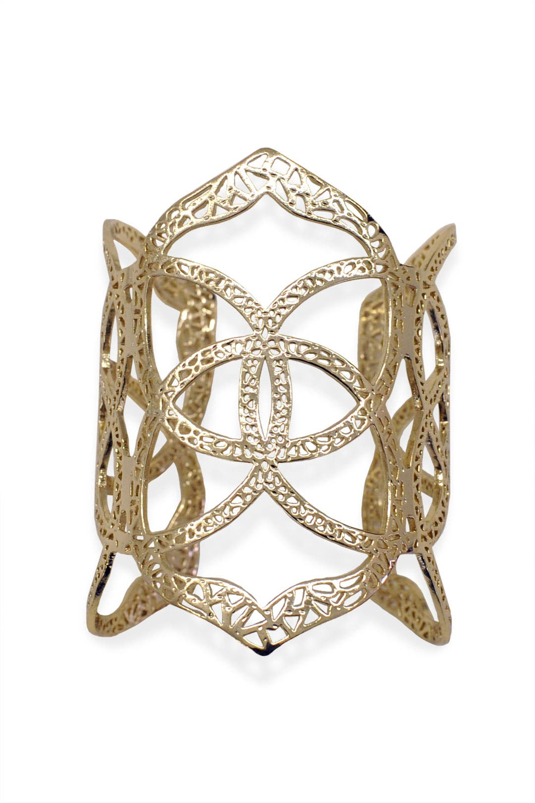 Gold Sanskrit Cuff by Kendra Scott