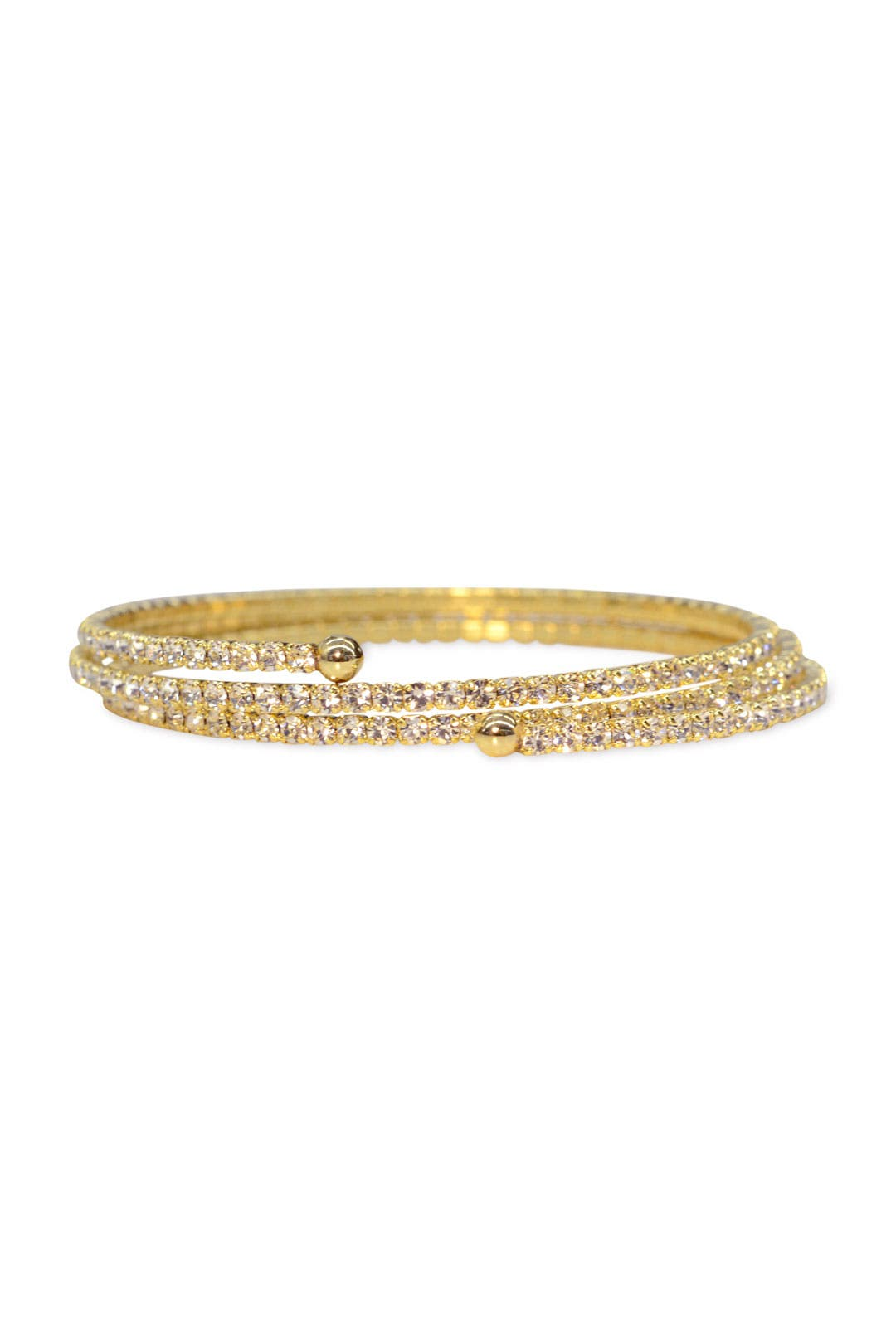 Gold Lightspeed Bracelet by Lisa Freede