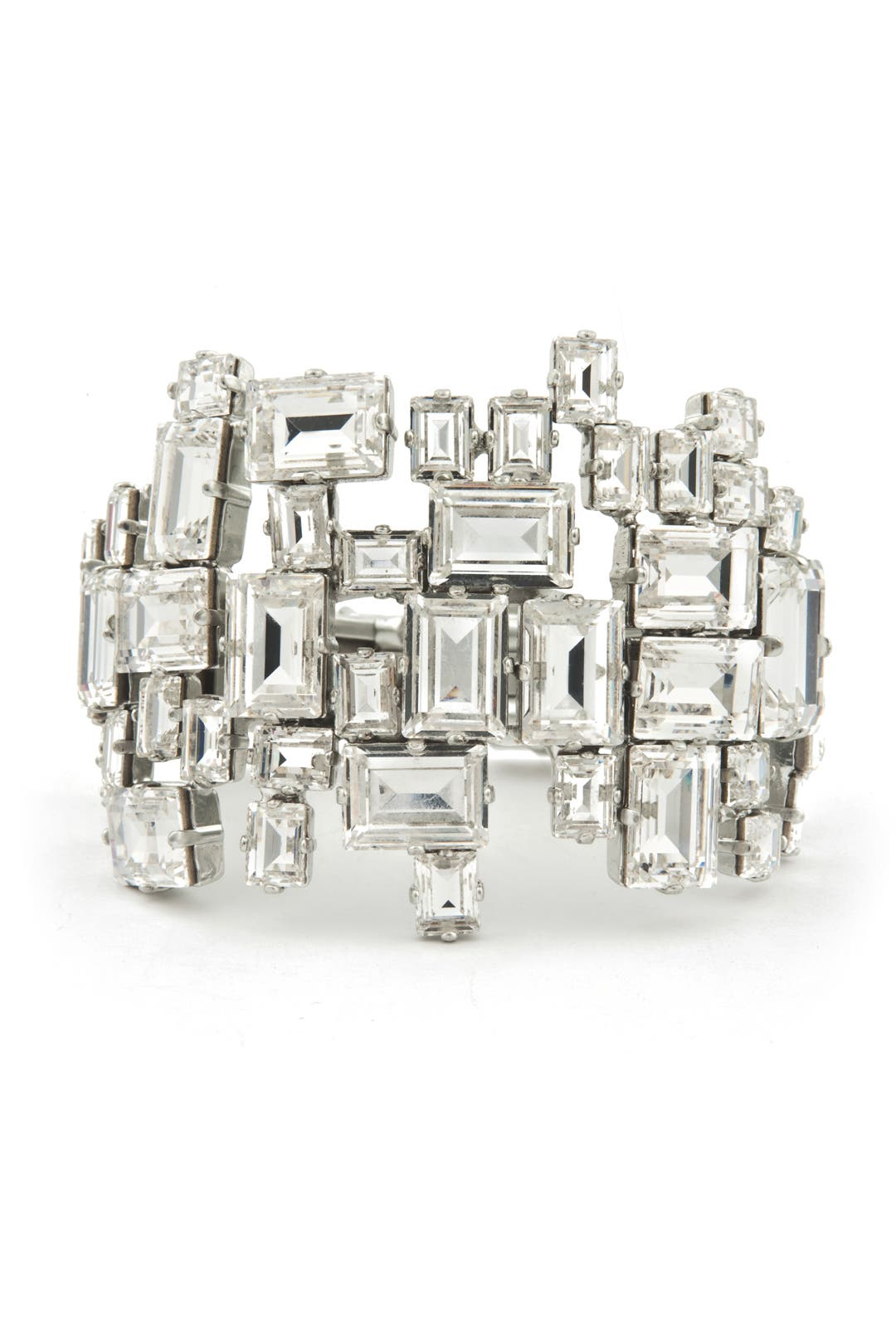 Insanely Chic Crystal Cuff by Rodrigo Otazu