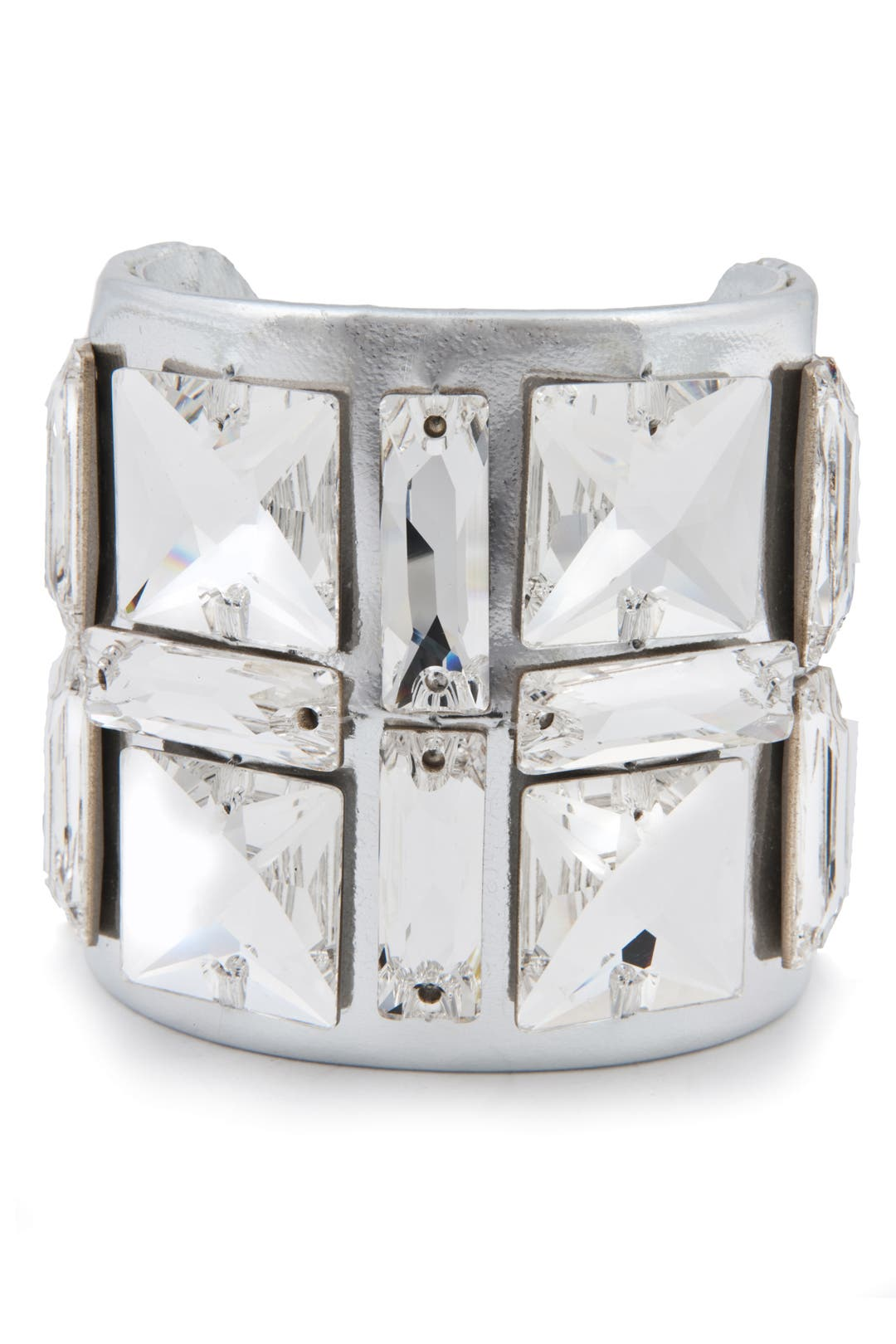 Mirror Grid Cuff by Ted Rossi