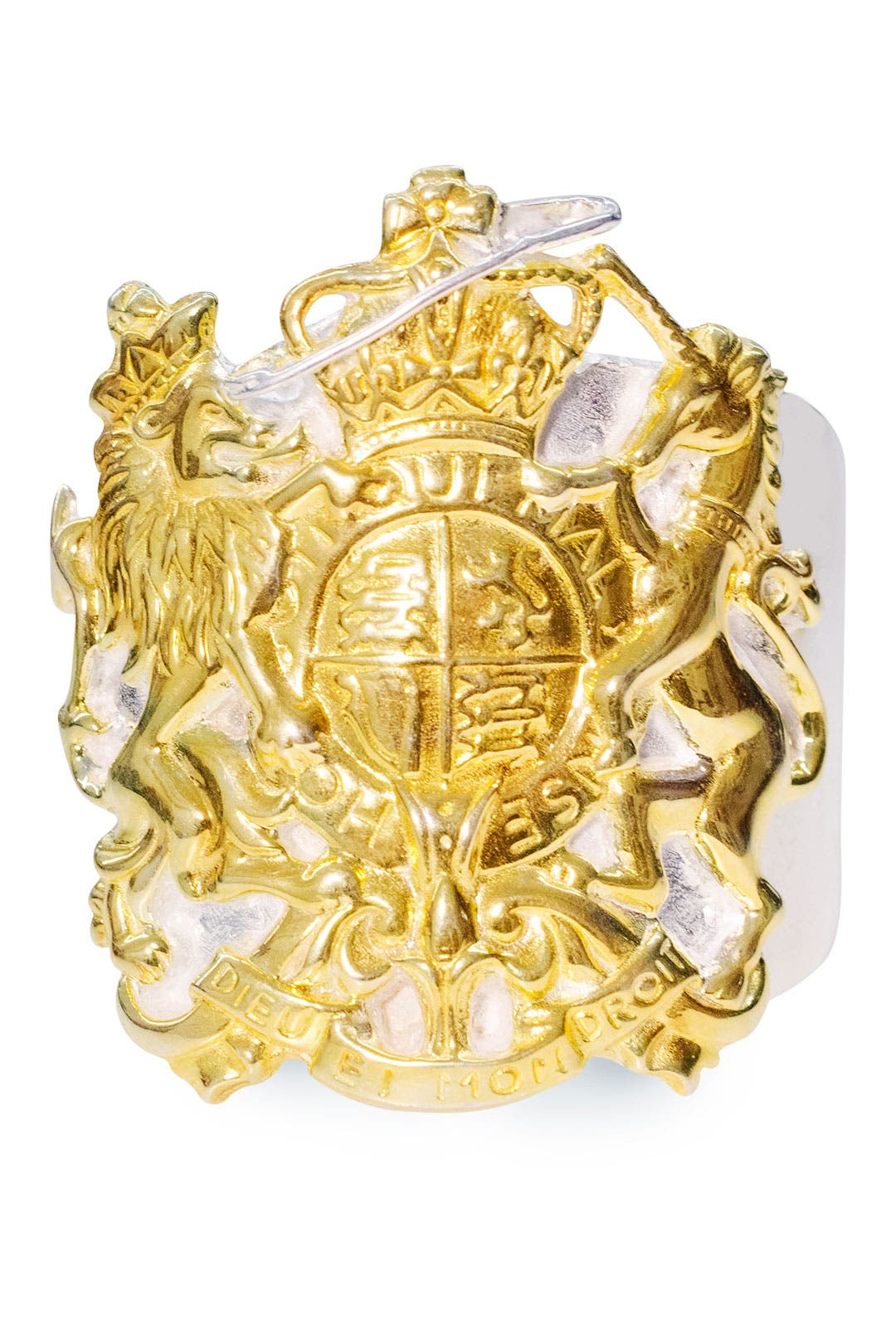 Charm Offensive Seal Cuff by Tom Binns