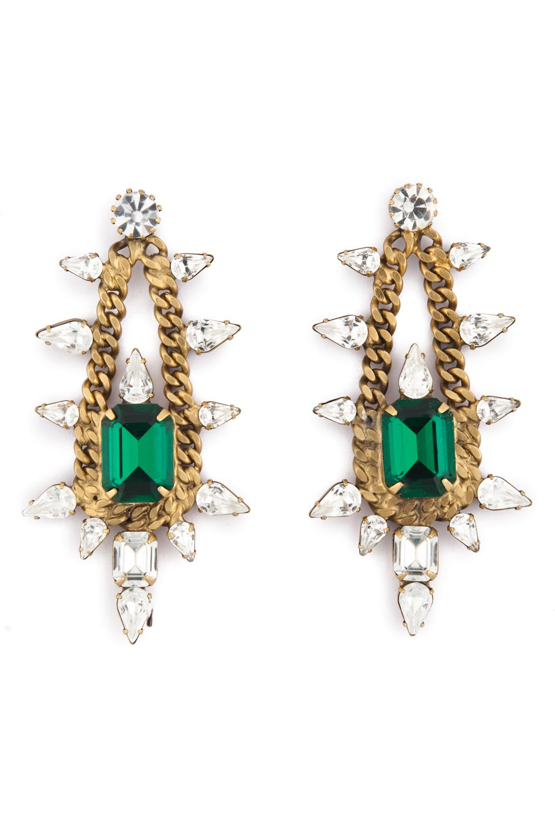 Old School Glamour Earrings by Elizabeth Cole