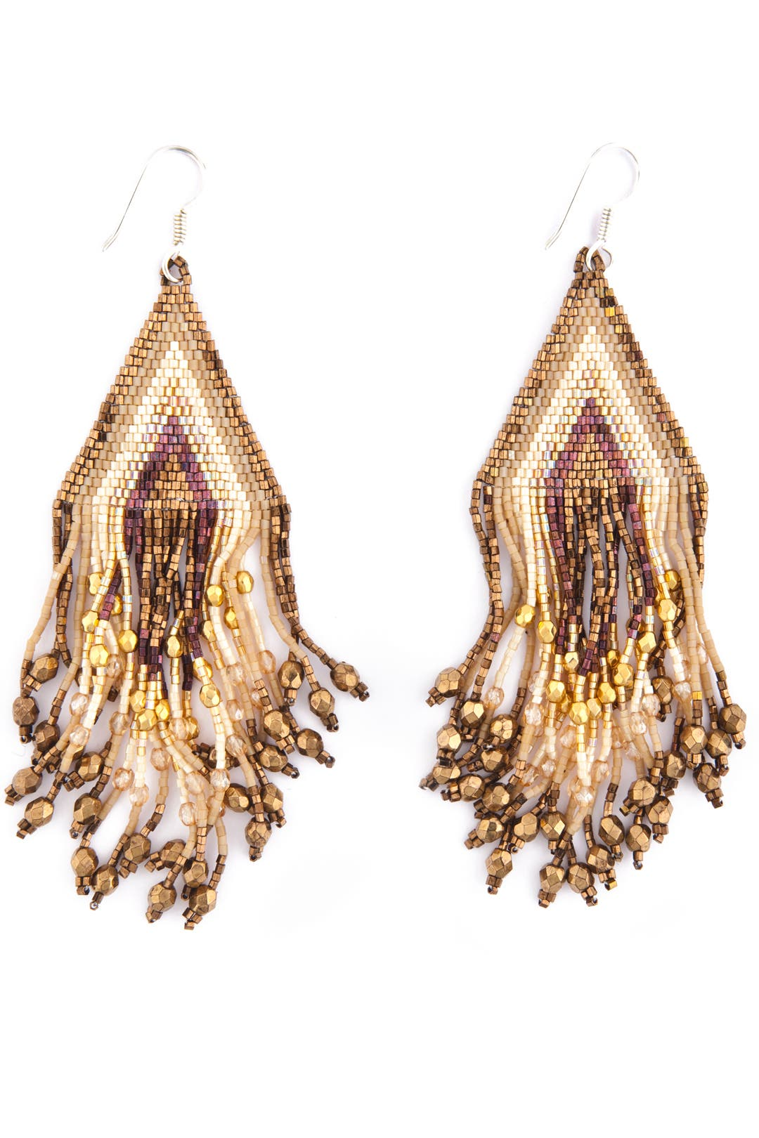 Hippie Fringe Earrings by Aikutzi