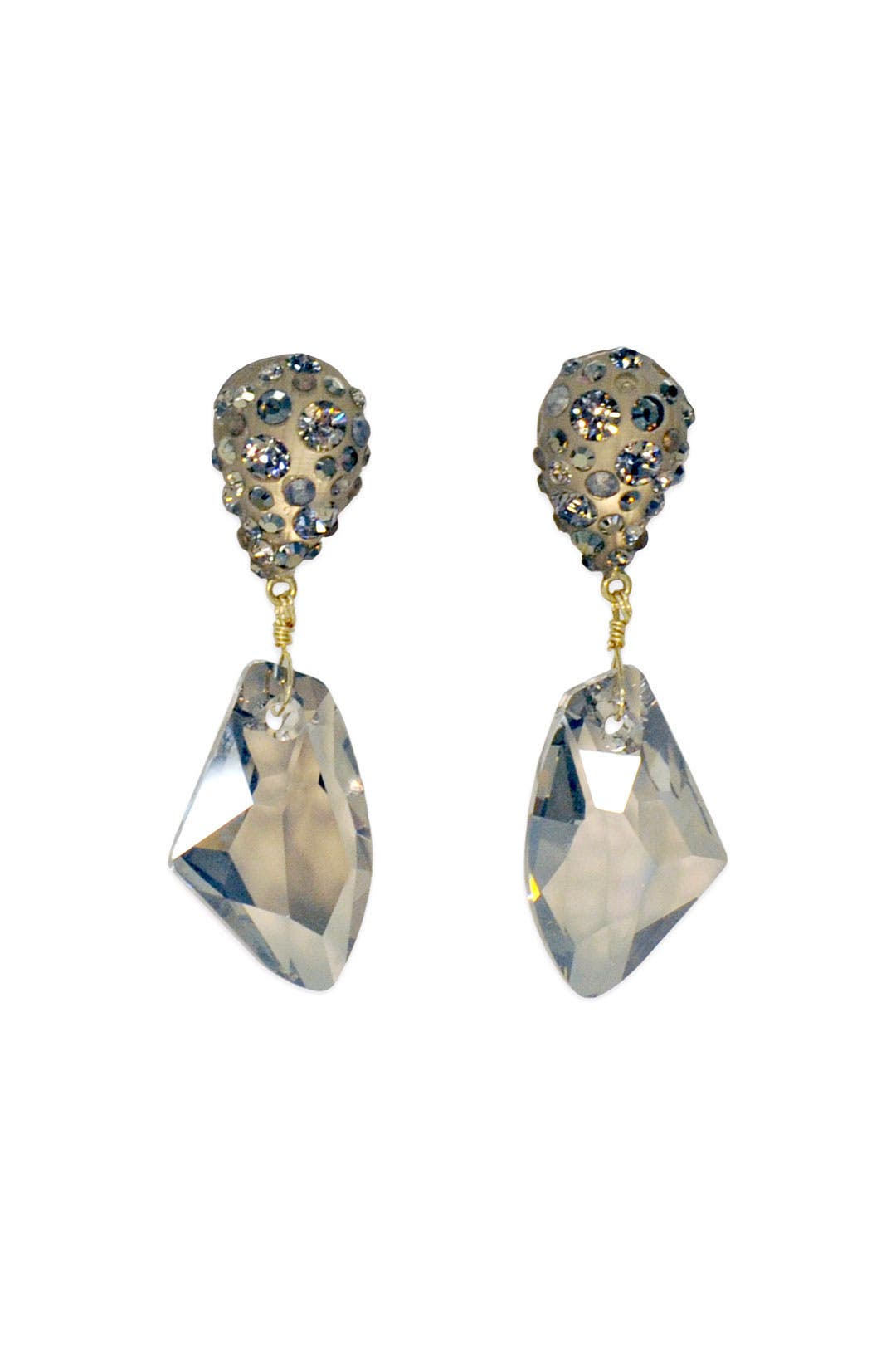Dune Dust Drop Earrings by Alexis Bittar