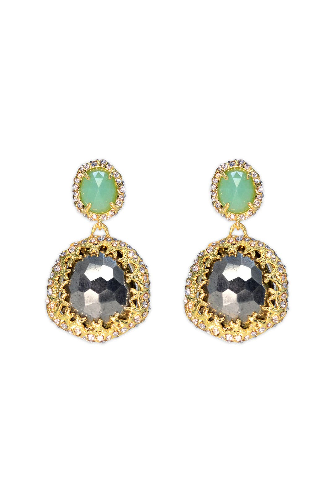Elements Fern Drop Earring by Alexis Bittar